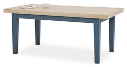 Pantry table in Heritage Blue