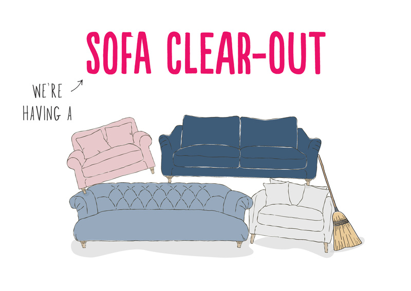 CLEAR OUT SOFAS BLOG
