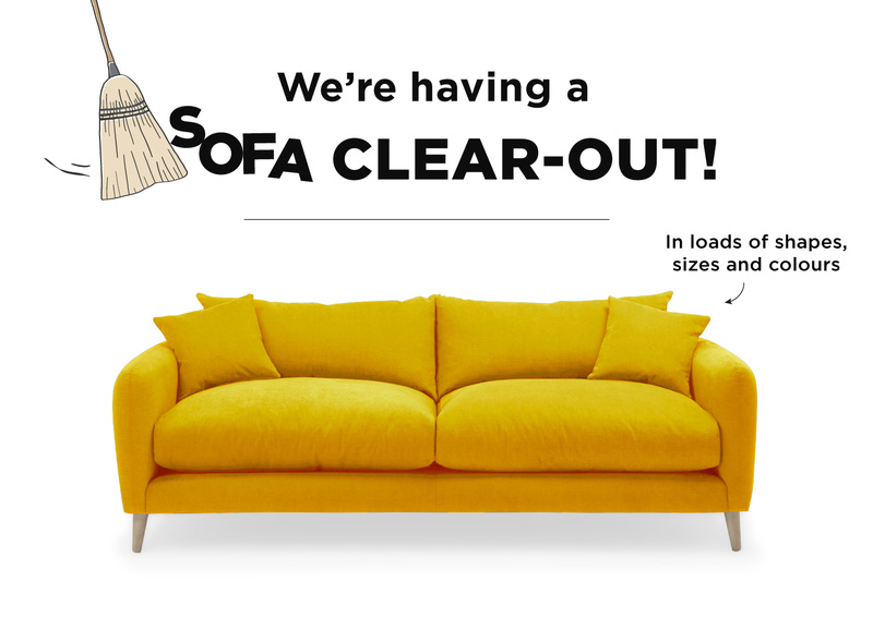SOFA CLEAR OUT BLOG