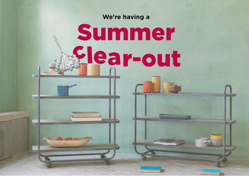 SUMMER CLEAR OUT STORAGE BLOG