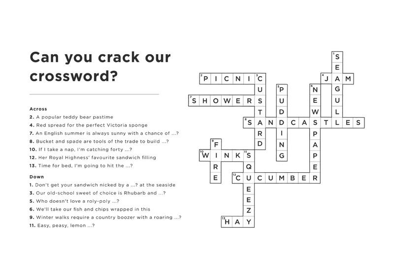 Septmeber brochure crossword blog