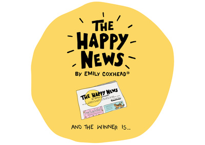 HAPPY NEWS BLOG WINNER