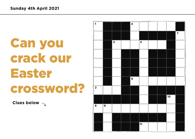 Easter crossword 2021 blog
