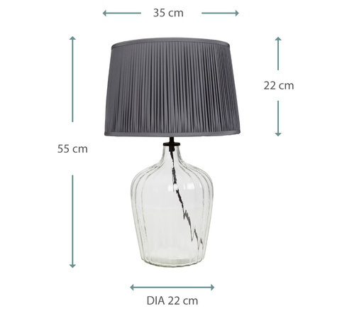 MEDIUM FLUTE TABLE LAMP 06