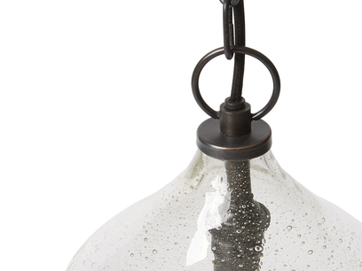 Small Cowbell pendant light - detail