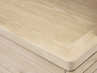 Big Bubba wooden modular shelves shelf detail