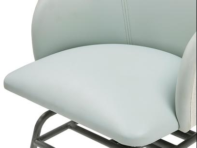 Milkshake leather retro kitchen chair