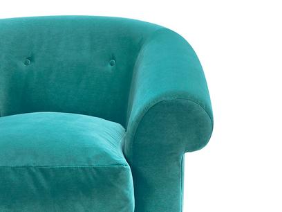 Schnaps tub armchair front detail