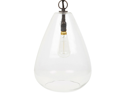 Raindrop glass pendant light