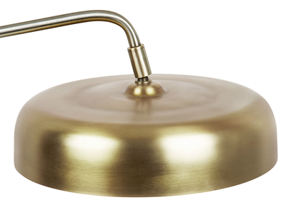 Biblio brass lamp shade