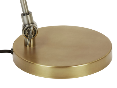 Biblio brass table lamp base