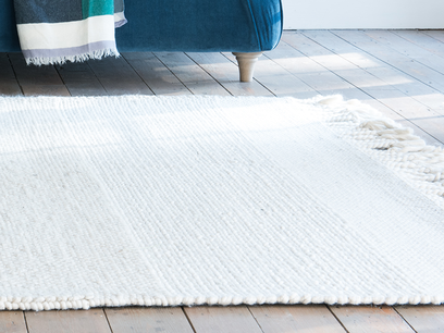 Knitwit knitted floor rug