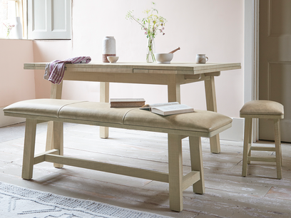 Bumpkin wooden dining bench
