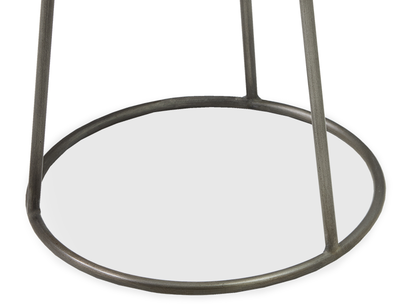 Little Scamp side table metal leg detail