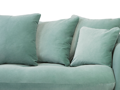 Skinny Minny sofa front detail