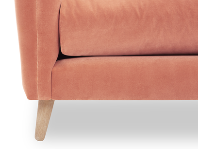 Squishmeister Chaise Sofa leg detail