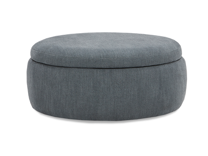 Pot Pie Upholstered Storage Footstool