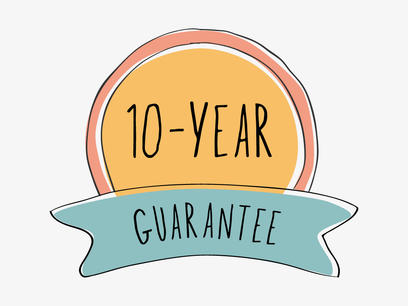 10 YEAR GUARANTEEArtboard 1