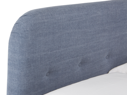 Nappye contemporary button back headboard
