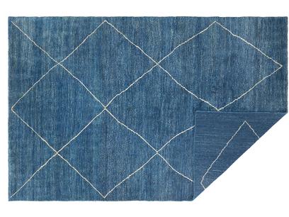 Habib Blue Woven Rug