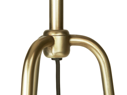 Shutterbug Tripod Brass Detail Floor Lamp