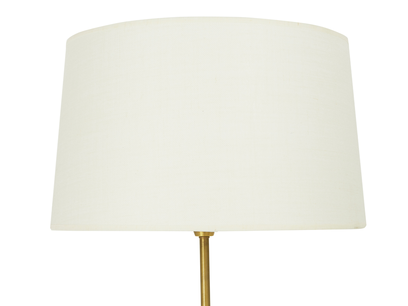 Squillions brass floor lamp shade detail