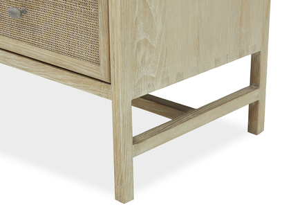 Willow Chest of Drawers Leg Detail