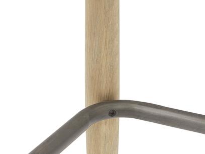 Booty island stool metal detail