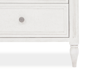 Pimpernel tall chest of drawers leg detail