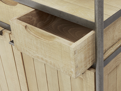 Super servery shelf drawer detail