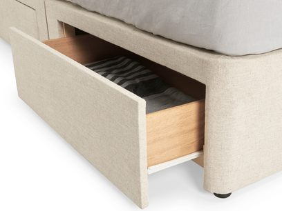 tight space storage bed drawers