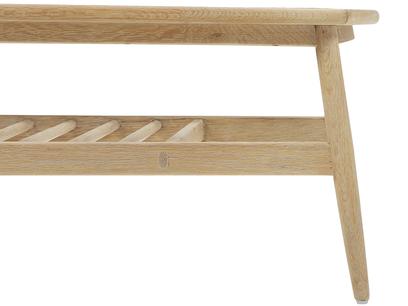Wood Turner oak coffee table