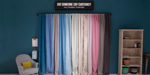 Guildford curtains display