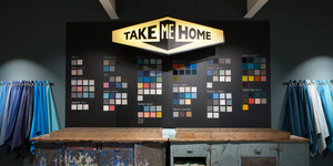 Take Me Home Swatch Area at Guildford