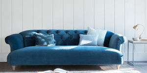 Dixie button back chesterfield style sofa