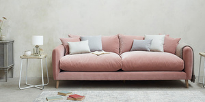Squishmeister Upholstered Deep Comfy Sofa
