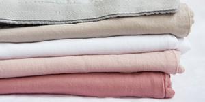 Lazy Cotton - 100% piece-dyed cotton bed linen