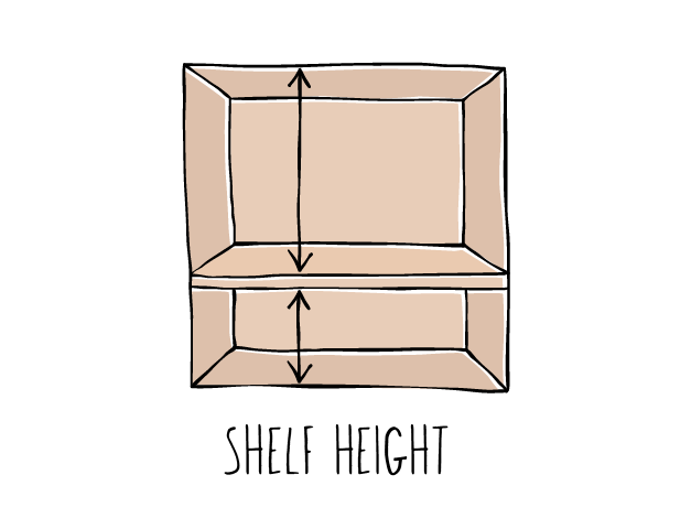 SHELF HEIGHT