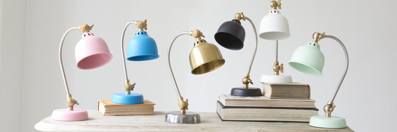Cool and colourful kids' bedside lamps