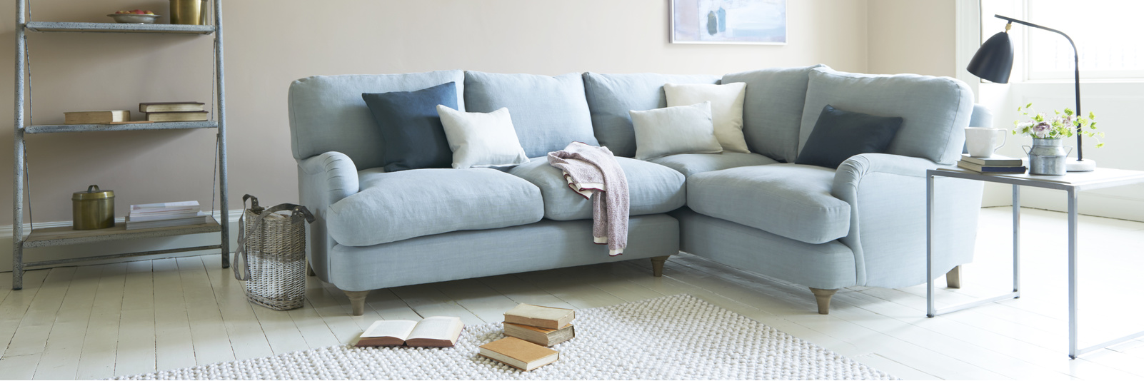 Small Corner Sofas | Made in Blighty | Loaf