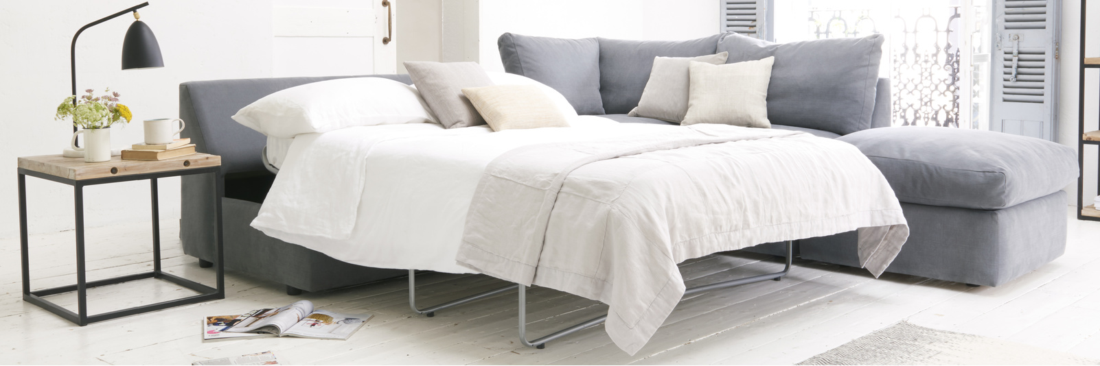 British made luxury deep and comfy sofa beds