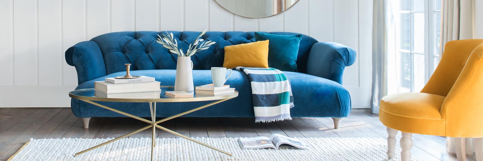 Velvet Sofas | Choose Your Colour, Style U0026 Size | Loaf