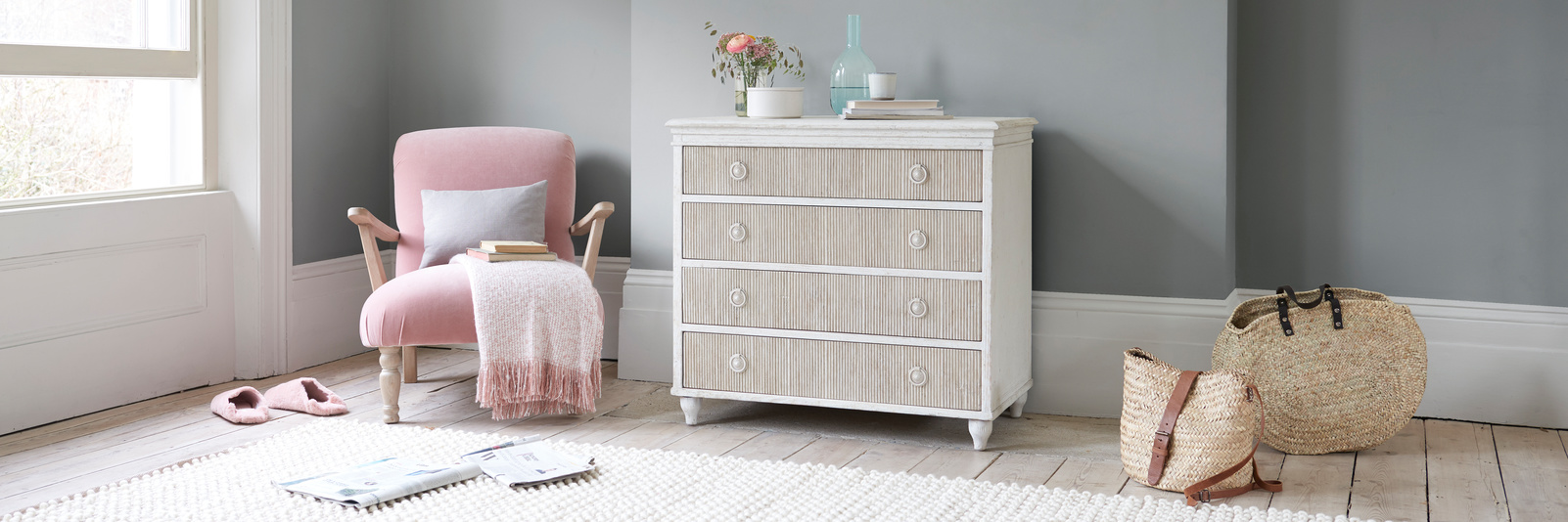 Tilda chest of drawers