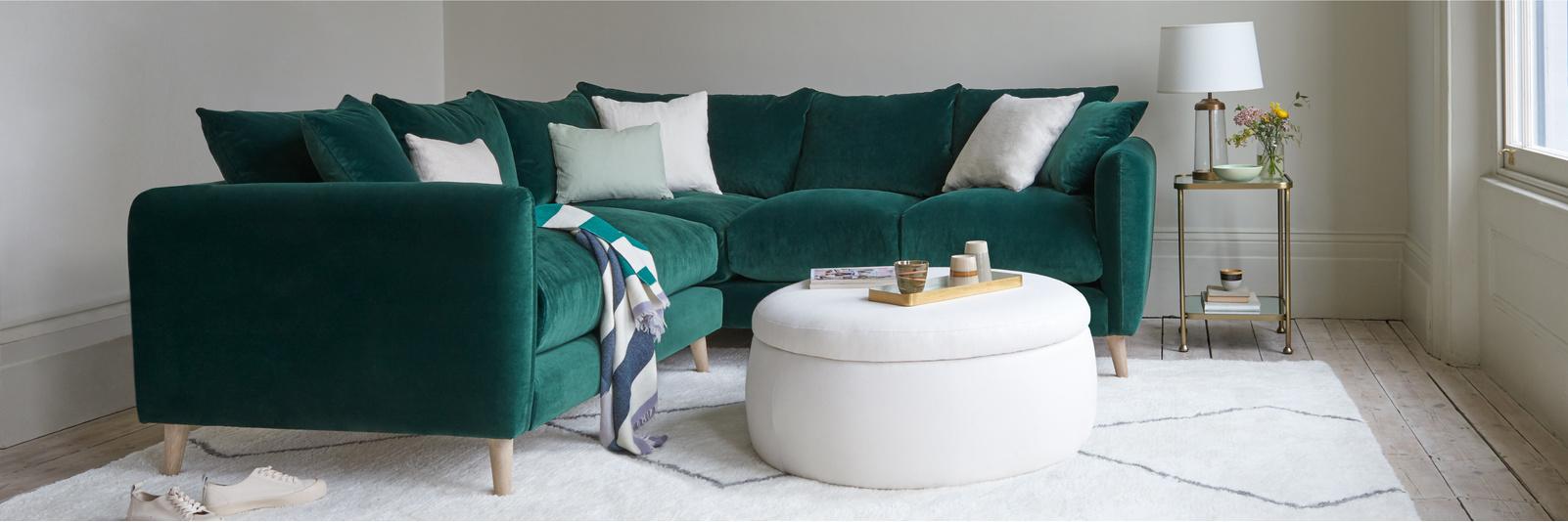 Squishmeister corner sofa