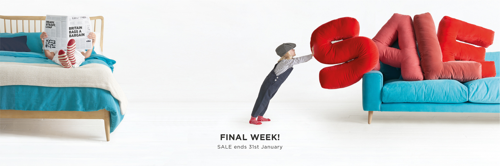 Final Week! Sale ends 31st January | Loaf