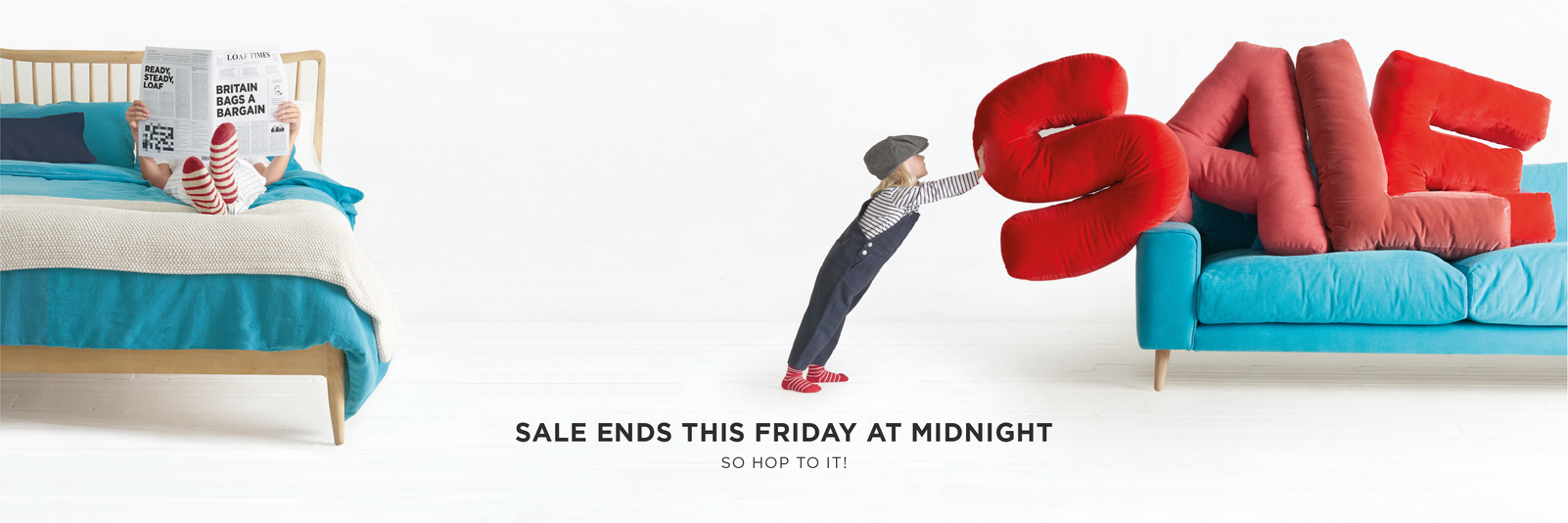Sale ends this Friday at midnight!