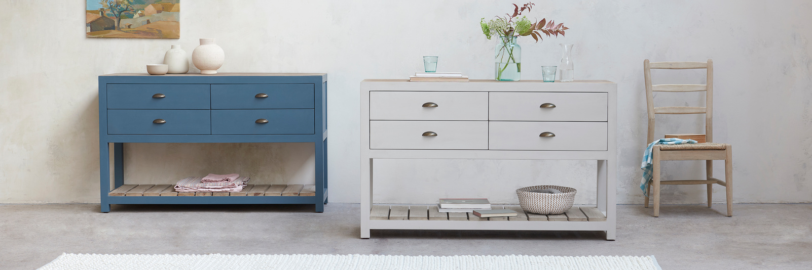 Provender painted wooden sideboard collection
