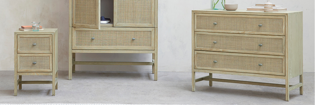 Willow woven furniture collection