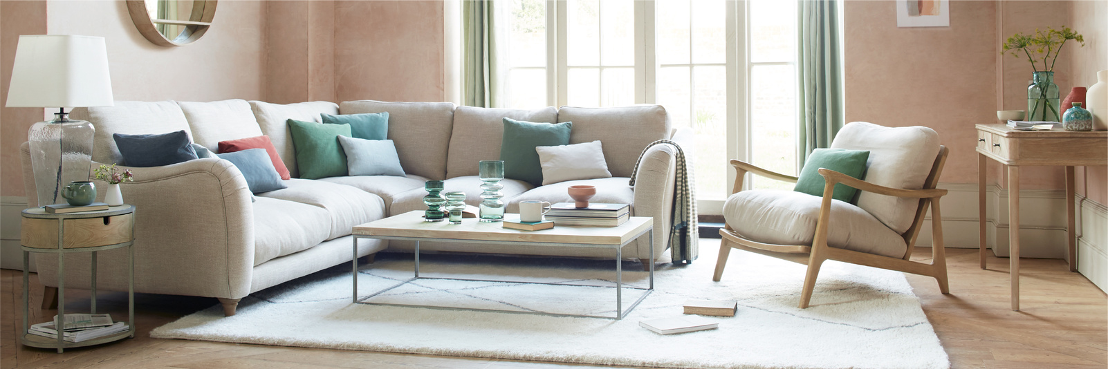 Bumpster corner sofa