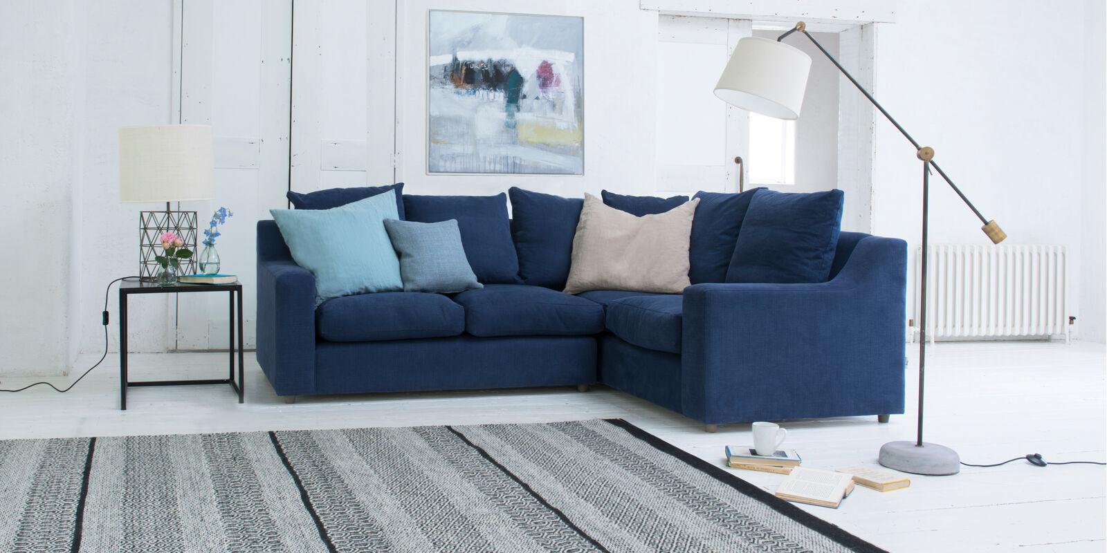 Beautiful contemporary cloud corner L shape sofa